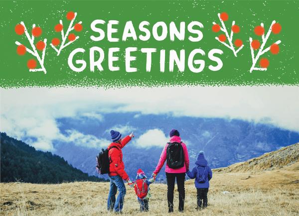 Season's Greetings Banner
