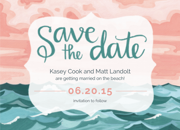Painted Ocean Save the date