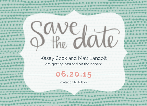 String of Pearls Save the date
