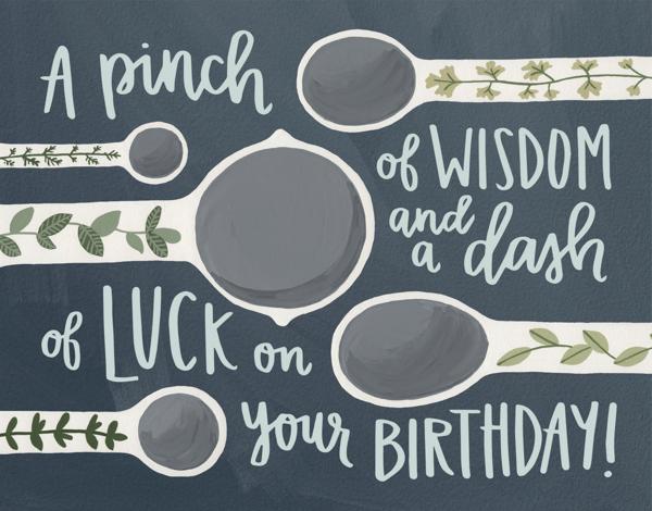 Teaspoon Birthday
