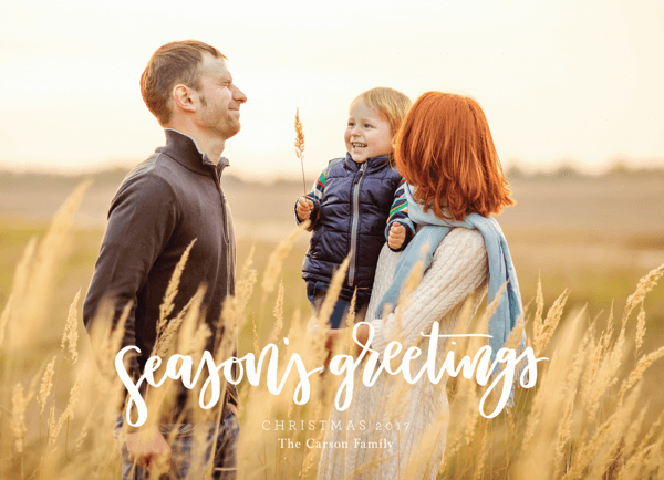 minimalist-hand-lettered-holiday-photo-card