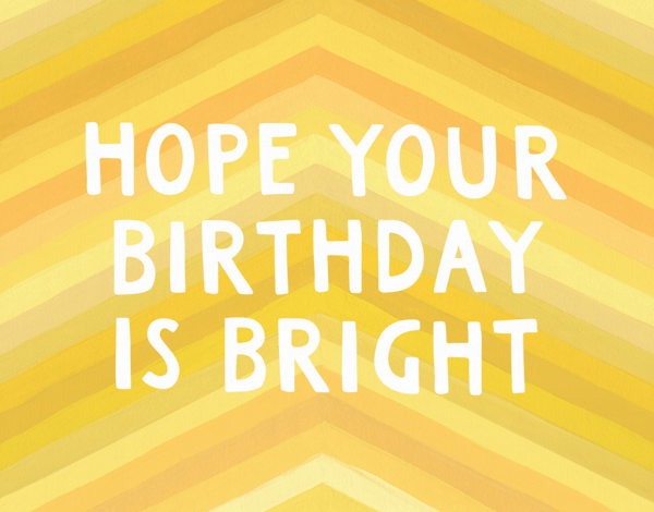 Bright Birthday