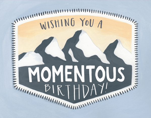 Momentous Birthday