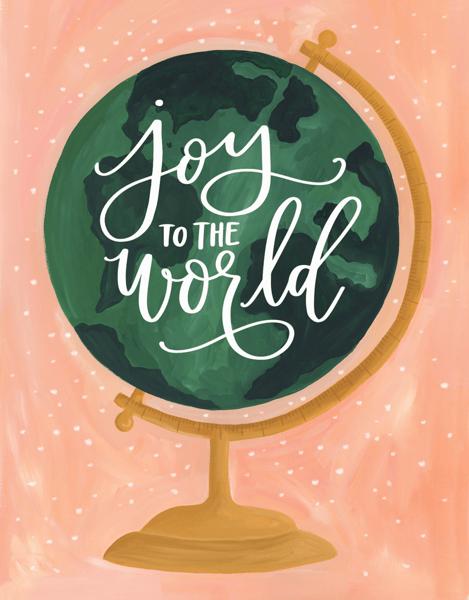 Joy To The World Globe