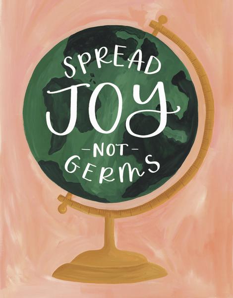 Joy Not Germs