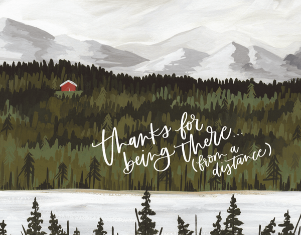 Thanks From A Distance