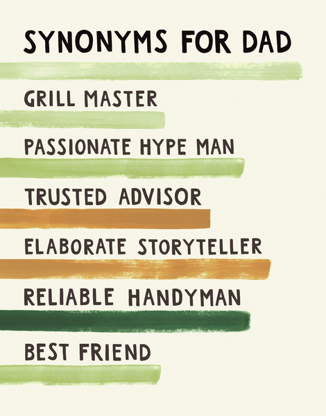 Father's Day Synonyms