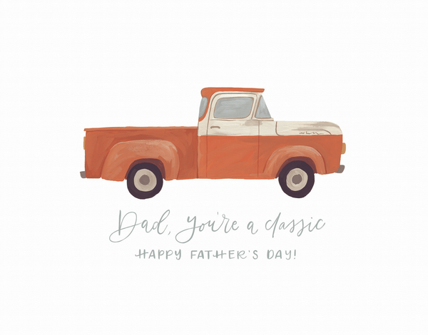 Father's Day Truck