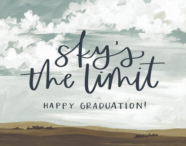 Graduation Sky