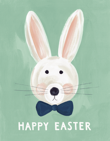 Painted Easter Bunny