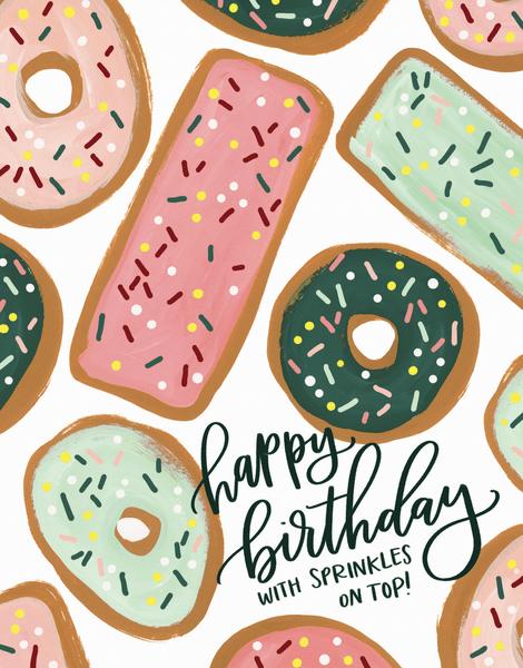 Birthday Donuts