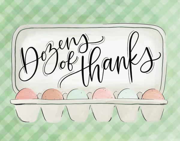 Thank You Eggs
