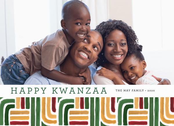 Kwanzaa Stripes