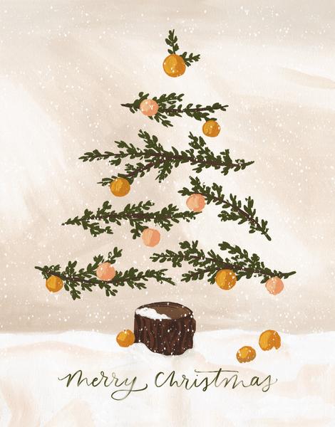 Christmas Tree Tan