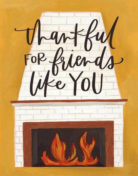 Thankful Fireplace