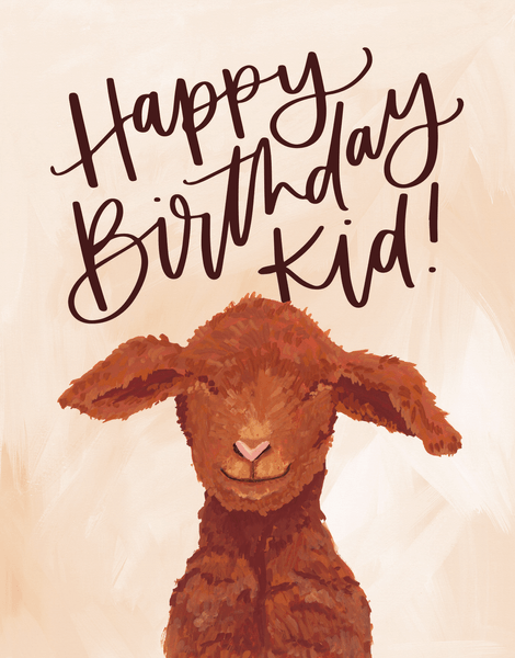 Birthday Goat