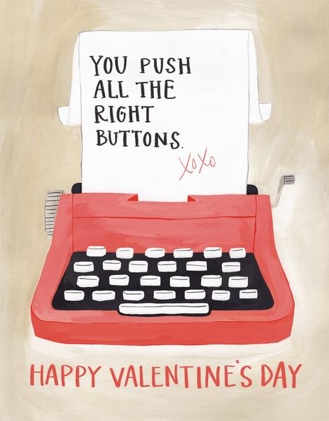 Valentine Typewriter