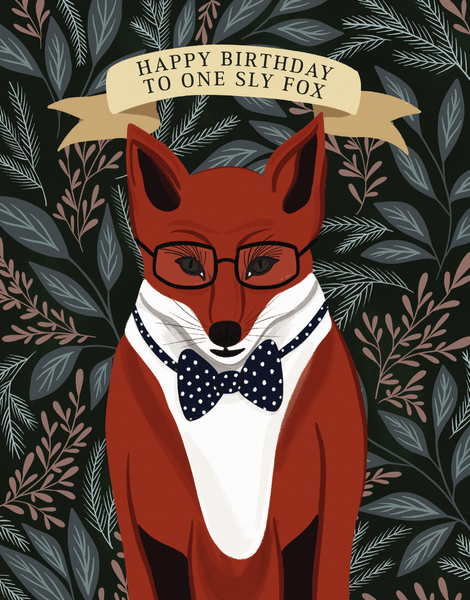 Sly Fox Birthday