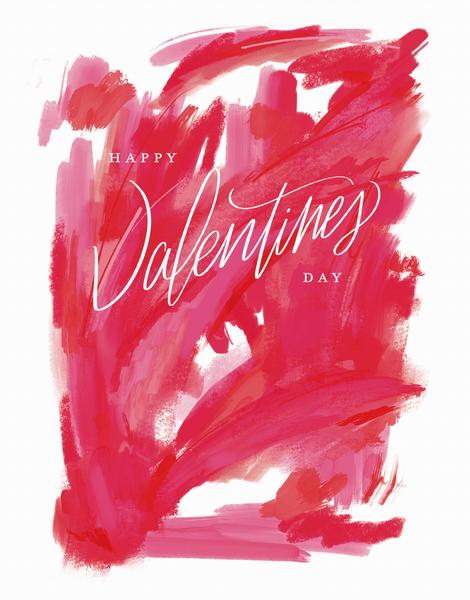 Abstract Script Valentine