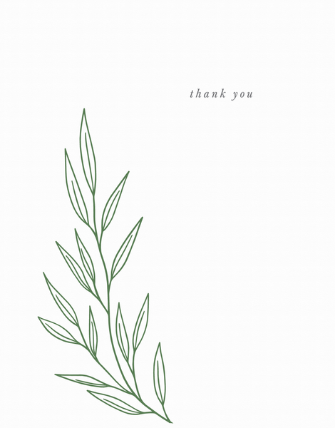 Branch Thank You