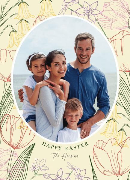 Floral Frame Easter