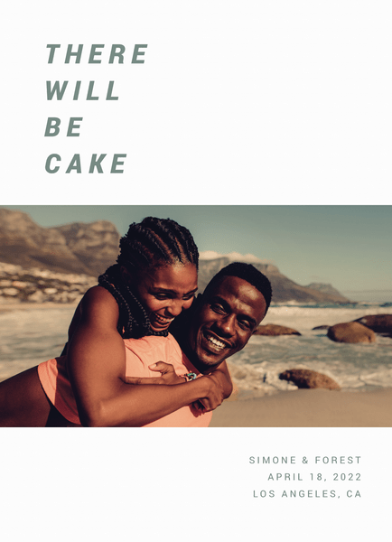 There Will Be Cake