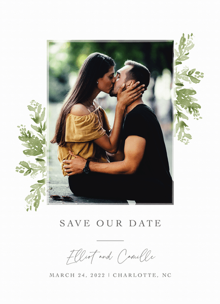 Verdant Save The Date