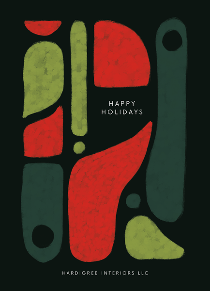 Abstract Business Holiday