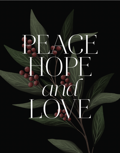 Peace Hope And Love