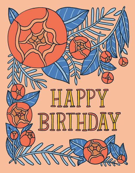 Birthday Floral