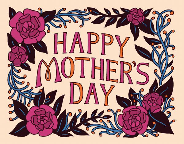 Mother's Day Flower Frame