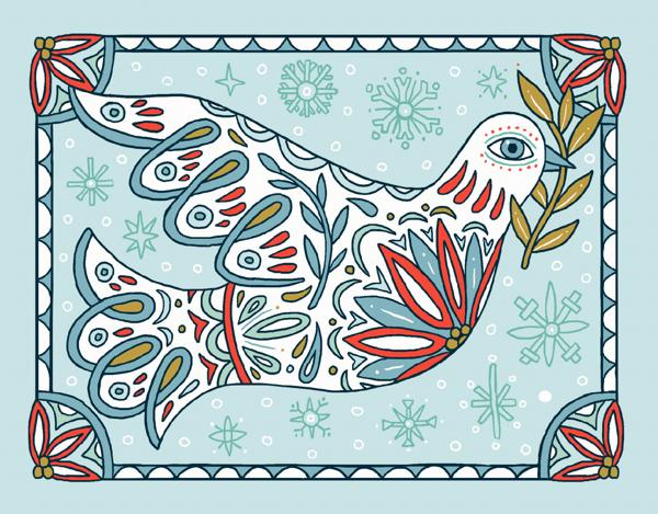 Holiday Dove