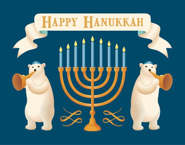 Hanukkah Bears