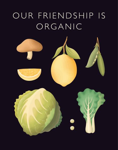 Organic Vegetable Friendship