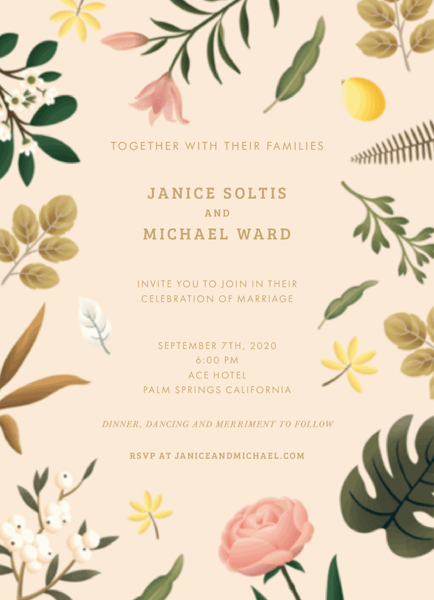 Delicate Floral Wedding