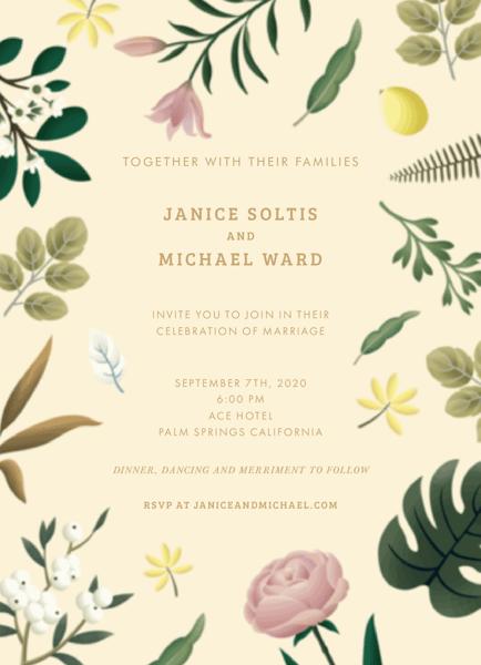 Nature Wedding