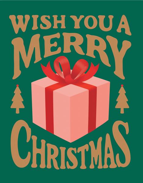 Green Merry Christmas