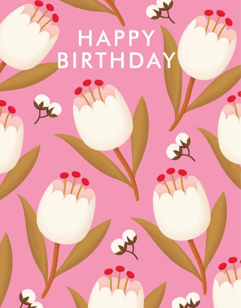 Sweet Flower Birthday
