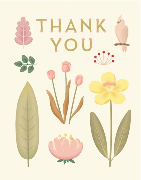 Sweet Bird Thank You