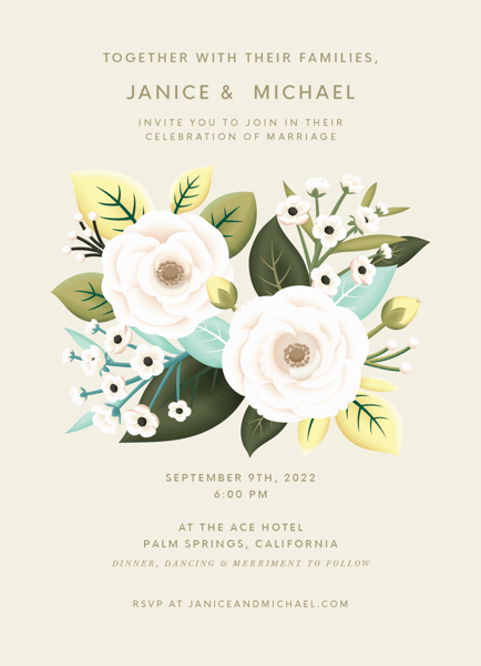 Botanical Garden Invitation