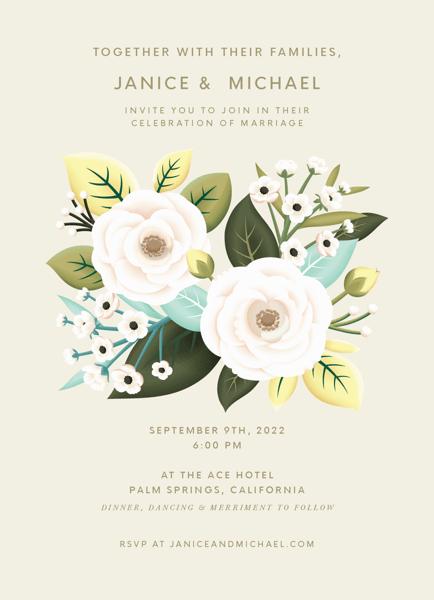 Botanical Garden Invitation