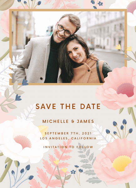 Gray Garden Save The Date