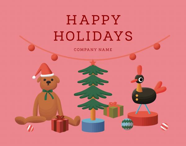 Festive Holiday Toys