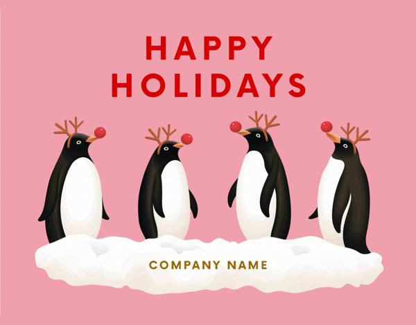 Fun Penguin Holiday