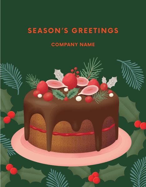 Chocolate Holiday Cake