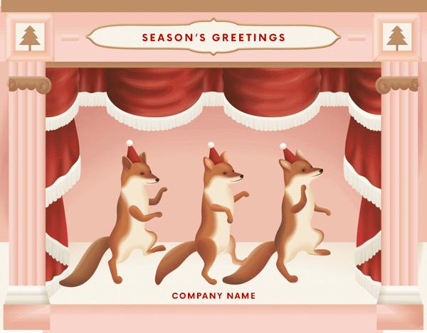Dancing Foxes
