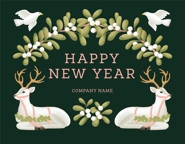 Deer New Year