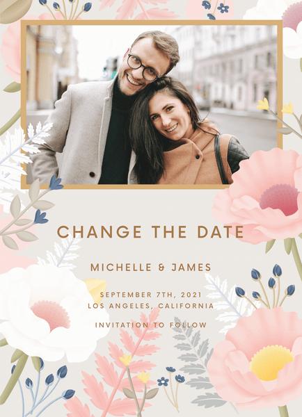 Gray Garden Change The Date