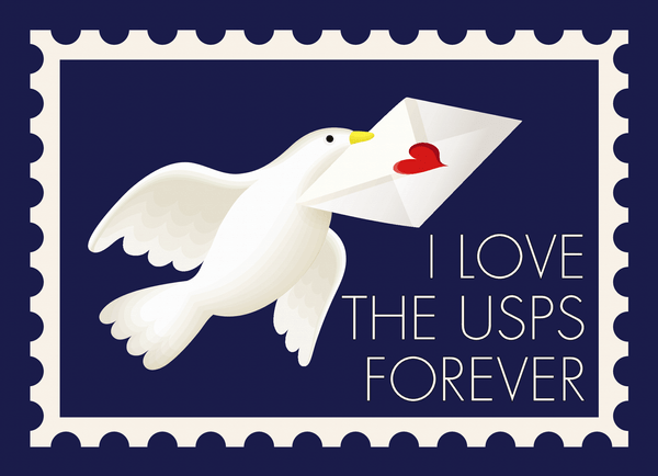 Save The USPS Dove