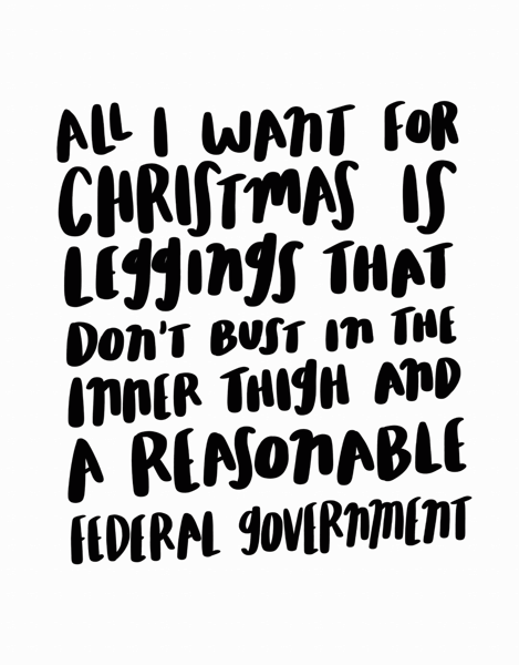 All I Want For Christmas